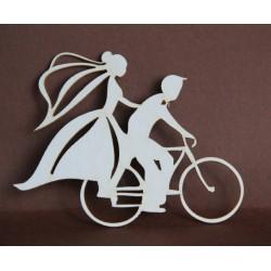 Tekturka PARA na rowerze