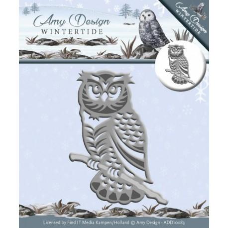 Wykrojnik Amy Design - Wintertide - Owl