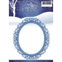 Wykrojnik Precious Marieke - Winter Wonderland - Ramka
