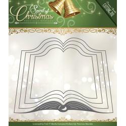 Wykrojnik Precious Marieke - Spirit of Christmas - Santas Book