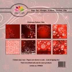 Happy Holidays papiery 10x10cm 18 szt