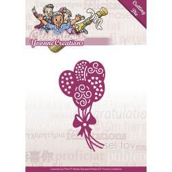 Balloons - wykrojnik Yvonne Creations - Celebrations