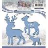 Wykrojnik Yvonne Creations - Colourful Christmas - Reindeer