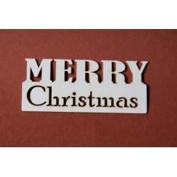 Tekturki MERRY CHRISTMAS