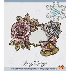 Amy Design stempel aniołek z różami