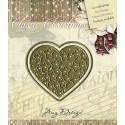 Wykrojnik Amy Design - Wykrojnik Classic Christmas - Star-filled heart