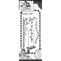 Pretty Pierrot - Flower Swing wykrojniki (4 szt)
