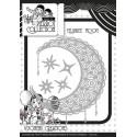 Pretty Pierrot - Filigree Moon wykrojniki (5 szt)