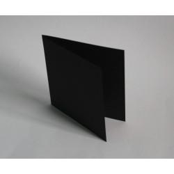 Baza kartka 14,5x14,5cm CZARNA