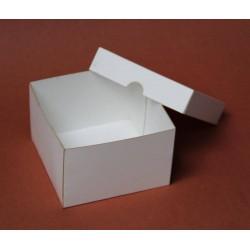 Pudełko 9x9x6 cm białe