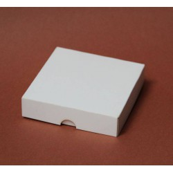 Pudełko 9x9x2 cm białe