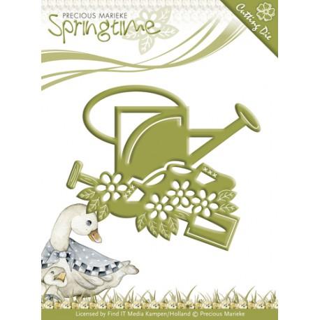 Wykrojnik Precious Marieke - Springtime - Gardening Tools