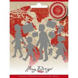 Wykrojnik Amy Design Maps - Family
