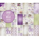 Lavender zestaw papierów 15x30cm 24szt